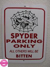 CAN-AM SPYDER ST LIMITED WEB METAL PARKING SIGN