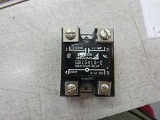 Gordos Arkansas Gb15410-2 Solid State Relay 240Vac 10A 3-32V