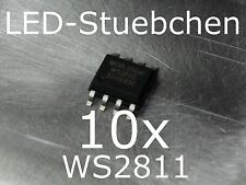 10x ws2811 LED-controlador IC (píxeles, Stripes, ksq)