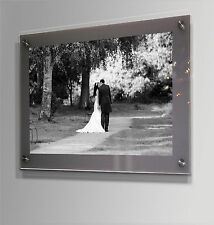 "Wall mount acrylic A 2 / 16 x 24 ""/40 x 60 cm/24x16 "" poster picture photo frame"