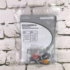 New listing Owner's Manual for Magnavox Dv220Mw9 Dvd/Cd Player Video Cassette Recorder