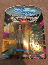 Star Trek Next Generation Lieutenant Commander Deanna Troi Playmates Figure 1992