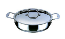Stainless Steel Fry Pan with Lid 28cm