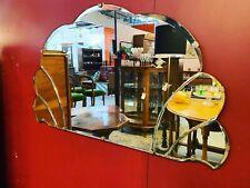 1930's Art Deco Cloud Fan Mirror