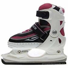 Lake Placid Metro Soft Boys/Girls Adjustable Ice Skate - Size Large (6-9)