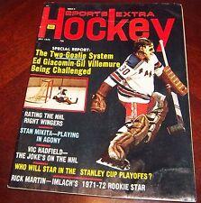 Sports Extra Hockey Ed Giacomin / Gil villemure May1972