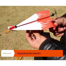 Outdoor Electric Paper Kid Airplane Powerup Propeller Module Gilder Model Set