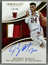 16-17 Panini Immaculate Collegiate Buddy Hield RC ROOKIE PATCH AUTO #10/99 2016