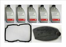 5 X AUTOMATIC TRANSMISSION FLUID ATF GEARBOX OIL & FILTER GASKET SEAL SET KIT