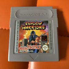 Gameboy Nintendo Game Boy Modul Shadow Warriors Tecmo
