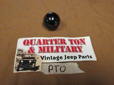 Jeep Willys CJ2A CJ3A PTO shift knob single