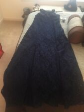 Gown Size 12 New With Tags R&M Richards Gown Navy Blue