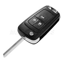 3 Button Flip Folding Remote Key Fob Case Shell For Vauxhall Opel Zafira Astra