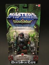 MOTU Mattel Masters Of The Universe Vs Snake Men Man-At-Arms Serpent Claw Green