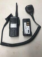 Motorolla XPR 7580E Radio With Microphone 800/900MHZ * READ FULL DESCRIPTION *