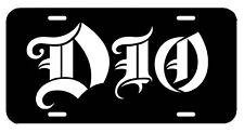 DIO ~ License Plate/Tag ~  car/truck Rainbow Black Sabbath Ozzy Accept Maiden