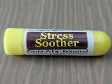 STRESS SOOTHER Essential Oil Personal AROMATHERAPY Inhaler: Tension / Anxiety