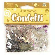 """Konfetti """"Just married"""" Hochzeit Tischdeko Confetti 14g heiraten Brautpaar Deko"""
