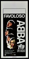 Plakat Abba Zaubershow The Film Andersson Lyngstad Ulvaeus Fältskog N51