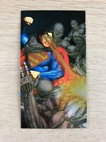 Superman Man Of Steel Platinum Series Spectra-Etch Insert Card Skybox1994 #S4