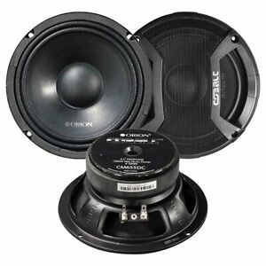 """Orion CM655DC 6.5"""" Midbass, 500W Max with Grills (pair)"""