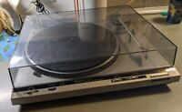 Technics SL D30 Turntable Direct Drive Automatic Turntable System Dust Cover vtg