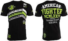 American Fighter Mens S/S T-Shirt CORNER Athletic BLACK GREEN Biker S-3XL $40