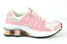 Pink And White Nike Shox Size 5Y Womens 2003 Rare