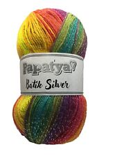 Papatya Batik Variegated DK With Glitter Shade 37G