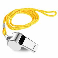 Whistle With Lanyard Safety Sports Women Seniors Camping