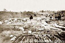 View of Sacramento, California - 1865 - Historic Photo Print