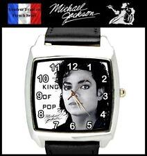 Montre à quartz NEUVE Bracelet Cuir ! ( Watch ) - Michael Jackson ( Ref 2 )