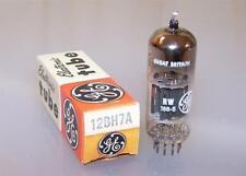 1 vintage NOS Brimar black plate 12bh7a tube -tested- 12bh7