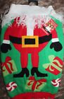 DOG Knitted UGLY SWEATER~Santa Claus Christmas Prop Costume  Size MEDIUM & LARGE