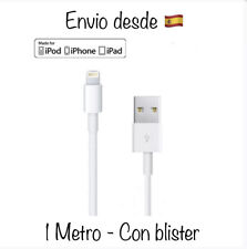 Cable Cargador iPhone 5s/6/7/7plus/8/8plus/X/Xs/Xs Max/iPad Air Pro 🇪🇸Original
