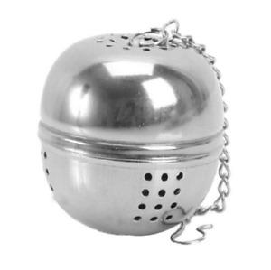 Tea ball Loose Tea Leaf Strainer Herbal Spice Infuser Filter Diffuse fine mesh