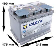 VARTA D52 SILVER DYNAMIC START-STOP AGM 60AH 680A ULTIMA GENERACIÓN