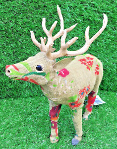 Hand Made Stag Gift Christmas Stag home decoration indoor outdoor Sculpture