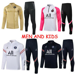 21-22 PSG Football Sportswear Adult And Kids Jumper Football Mens Outfits