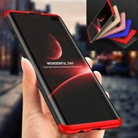 Samsung Galaxy S8 S9 S10 Plus S10e Shockproof 360° Case Cover + Screen Protector