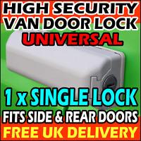 Ford Transit CUSTOM High Security Van Lock Milenco Rear OR Side Door 2013-2019
