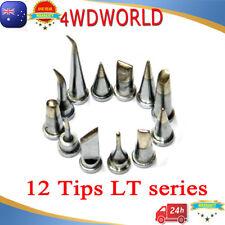 12PCs Soldering Station Iron Tips LT FOR Weller WSD130 WSD150 WSP80 MPR 80 WSD81