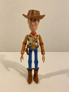 """Disney Pixar Toy Story Woody 7.5"""" Poseable Action Figure w/ Hat"""
