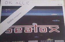 SEAFOX, milliardaire, Discovery (Public Domain) Commodore c64 (disquette) 100% OK