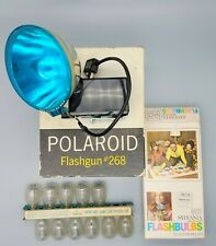 Polaroid flash POLAROID FLASHGUN 268 and Flash Bulbs