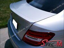 AMG Tail Spoiler Wing Lip For 2012+ C204 C200 C250 C350 Coupe 775 Iridium Silver