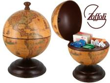 More details for zoffoli globe bar poker game home decoration ornament antique effect