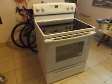 KITCHEN STOVE AMANA SCHOTT CERAN COOKING APPLIANCE LOCAL PICK UP ONLY