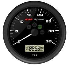 """VDO """"Viewline"""" GPS Tachometer Geschwindigkeitsanzeiger SumLog Anzeiger 35kn"""