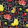 Farmer John's Garden Party, Lemonade, Mixed Fruit , Quilt Shop Fabric